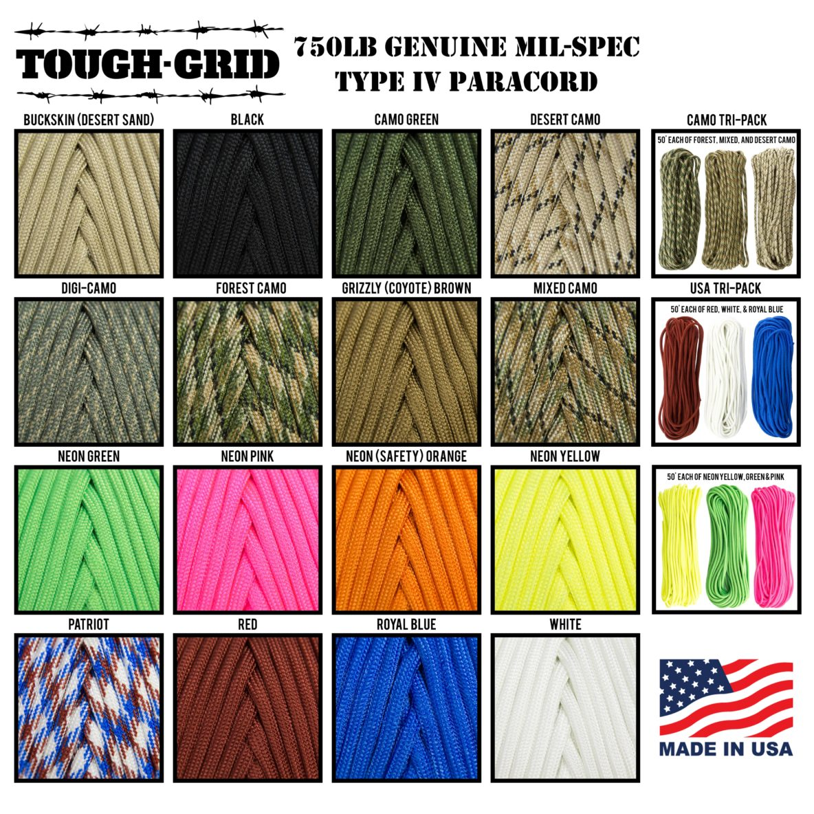 TOUGH-GRID-Paracord-All-Colors (2)