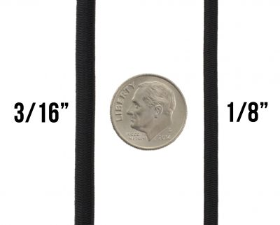 3-16-and-1-8-black-shock-bungee-cord-dime-comparison-TOUGH-GRID
