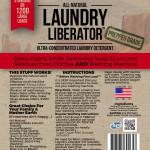 Laundry Liberator Label
